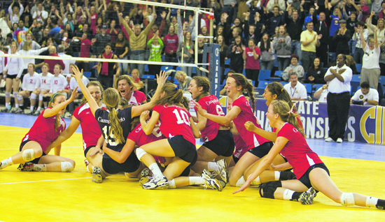 ... the Campolindo girls' volleyball team finally got what they rightfully  deserved, the Division III state championship. The Cougars took down  defending ...