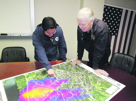 MOFD Updates GIS Evacuation Maps